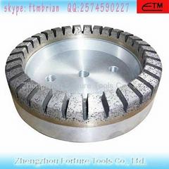 full segmented diamond glass wheel