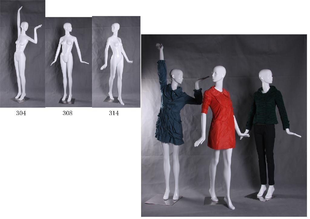 供應品牌時裝女模特 2