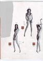 供應品牌時裝女模特 5