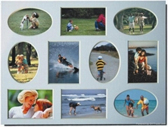 Collage Mat for photo fr