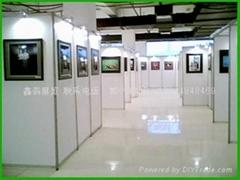 學生攝影作品挂畫展覽屏風展架
