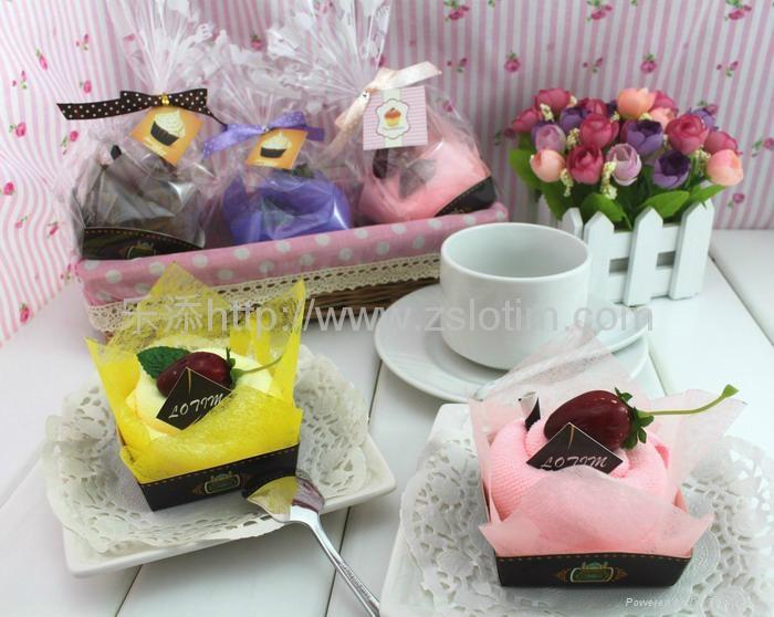 广告礼品蛋糕毛巾 5