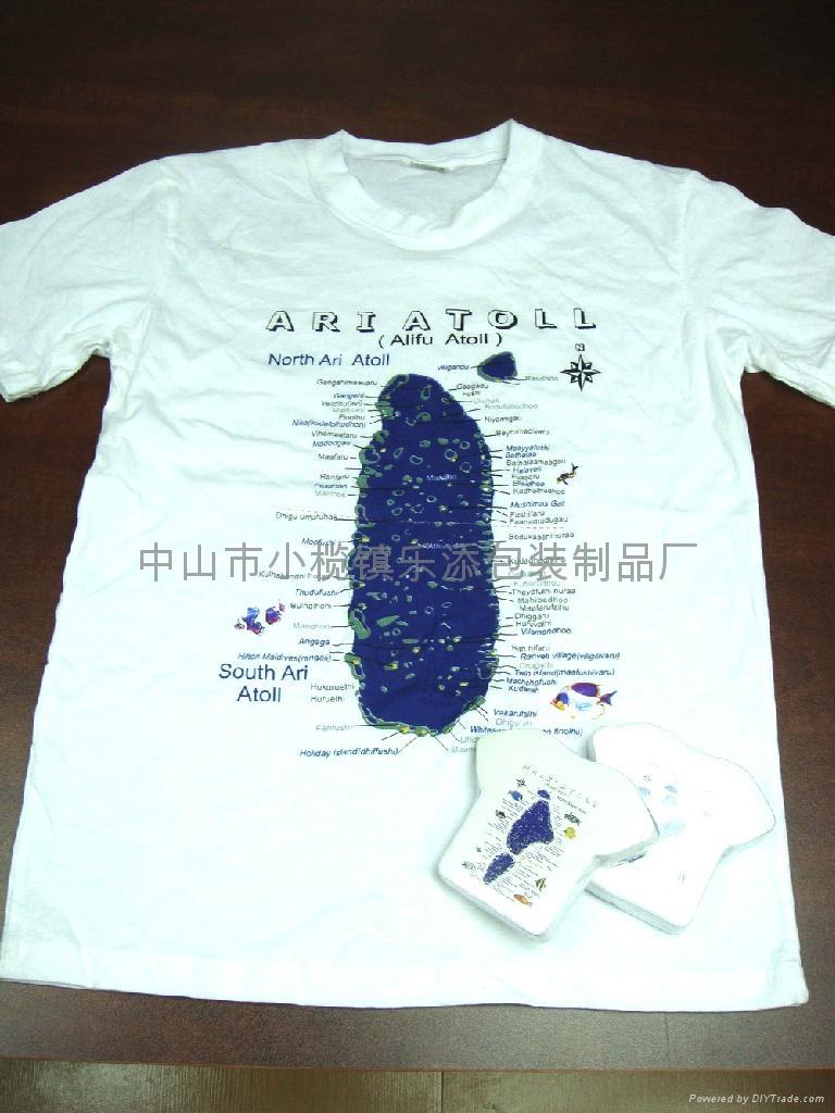 广告压缩T恤 3