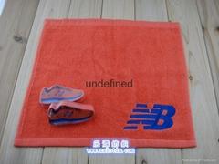 廠家直供訂製廣告禮品純棉繡花壓縮毛巾運動巾