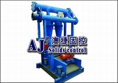 Drilling fluid desander