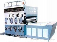 三色水墨印刷開槽機