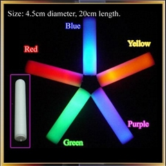 Party Decoration Promotional LED Foam Stick Baton MADE IN CHINA