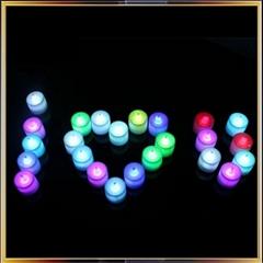 LED candle night lamp