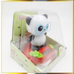 popular panda solar doll solar toy