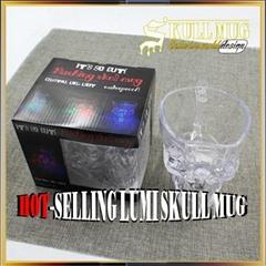 Led Ligth Flashing Skull Mug