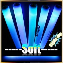 LED Foam Glow Stick Foam Light up Glowing Stick