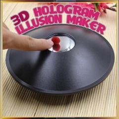 3D Mirascope, 3D illusio