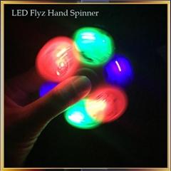 LED Flashing Fidget Spinner