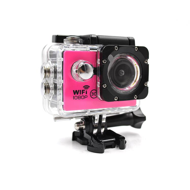 High Quality 1080P HD Action Camera Wifi Waterproof Helmet 1080P Action Camera 2