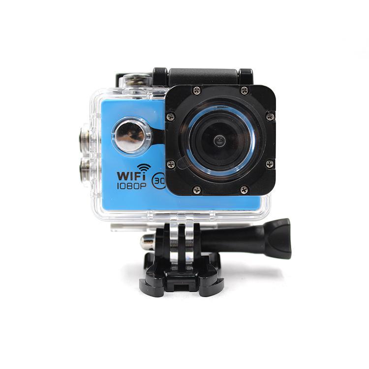 Helmet Waterproof 1080P Sport Action Camera Wifi Portable Mini 1080P Action Came 1