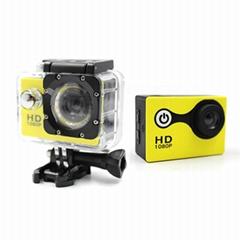 Diving Action Camera 720p Waterproof 30 Meters Helmet Sport Camera 720p