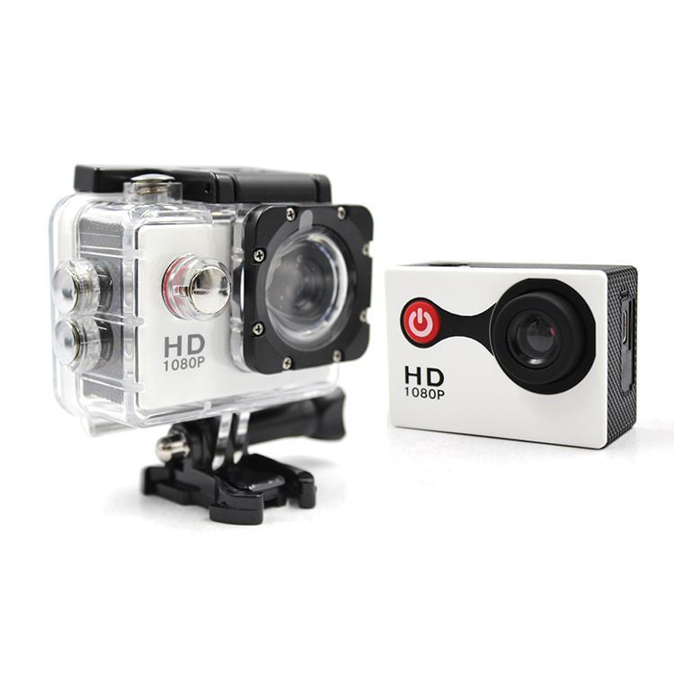 "720P HD 2"" Screen Action Camera Waterproof Helmet Action Camera 720p Sport DV 4"