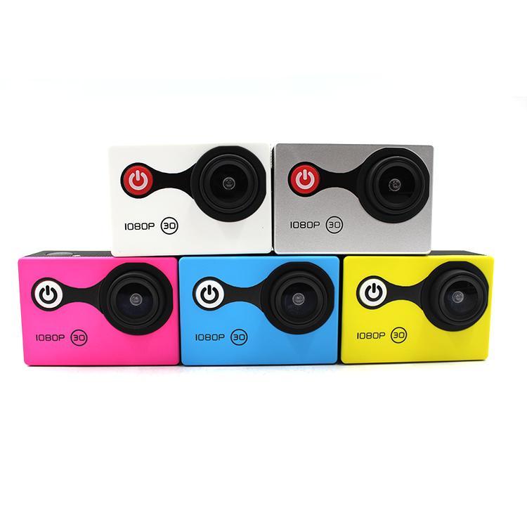 Portable Sports Action Camera Real 720P Sunplus Helmet Action Camera 5