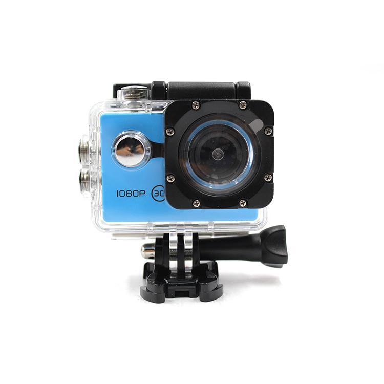 Portable Sports Action Camera Real 720P Sunplus Helmet Action Camera 3