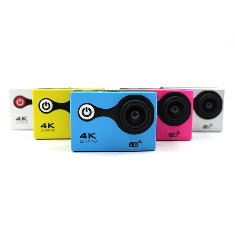 High Definition 4K Sport Action Camera Portable 4K Action Camera with 30 Meters  4