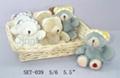 Lovely bear ( Plush toy set )
