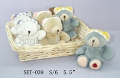 Lovely bear ( Plush toy set )