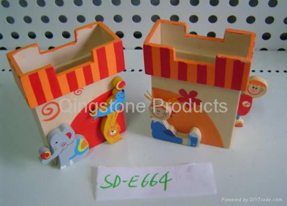 Wooden Stationery 4