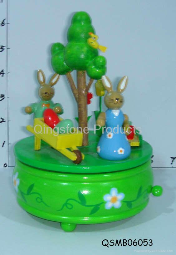 Spring music boxes 1