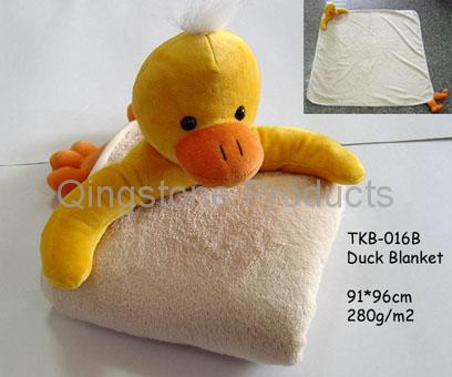 Kid Playing Blanket