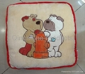Children Cushion with Embroidery Pictures