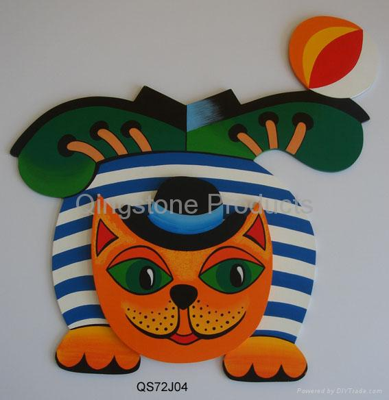 Wall wooden Painting Decoration