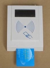 庆通供应 RF500-MEM接触和非接触二合一IC卡读写设备