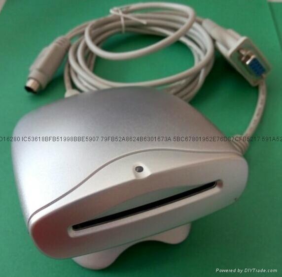 庆通DP-R103系列接触式IC卡读写器厂家RFID多卡座读卡器 2