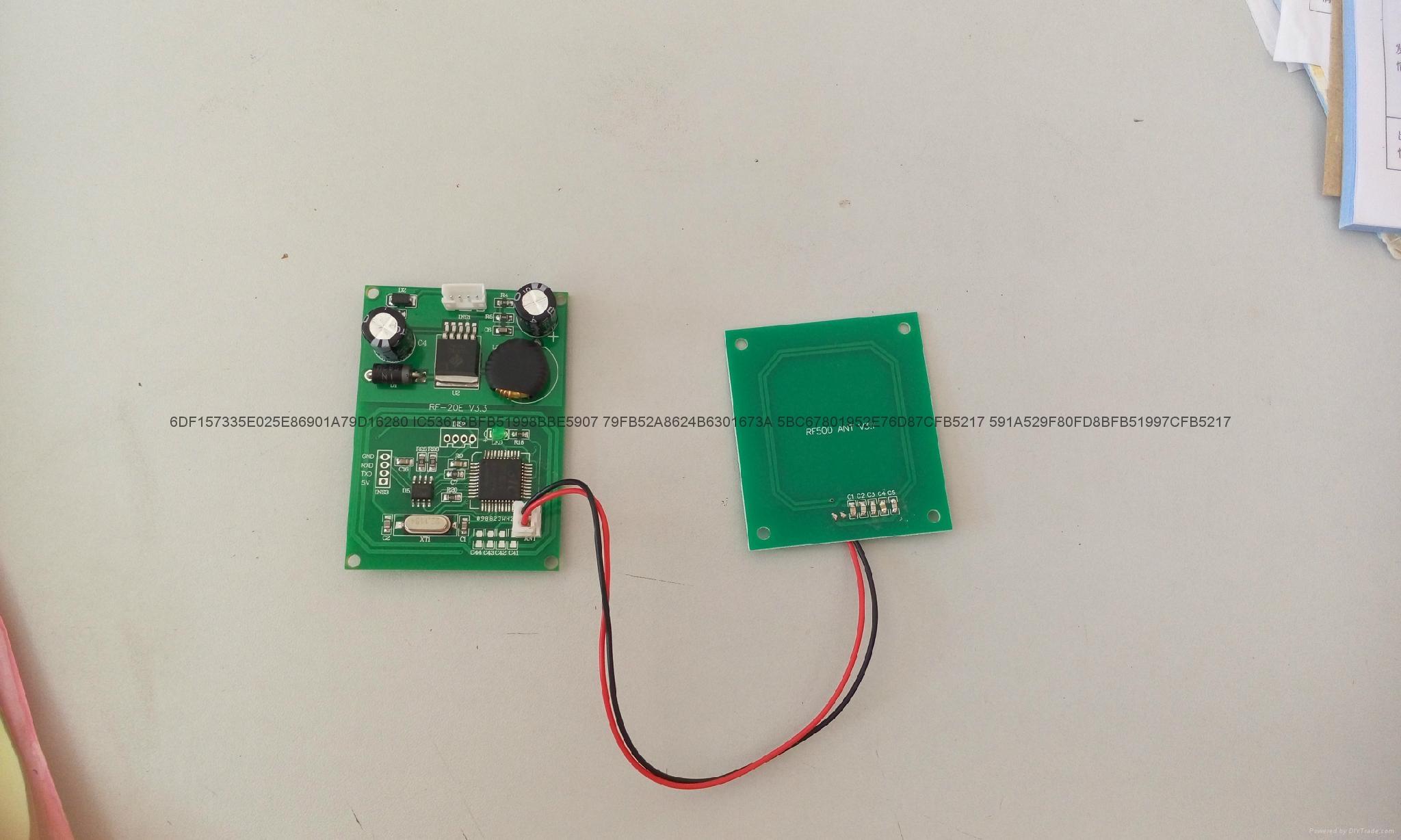 慶通RFID接觸式IC卡模組工控智能讀卡器廠家 2