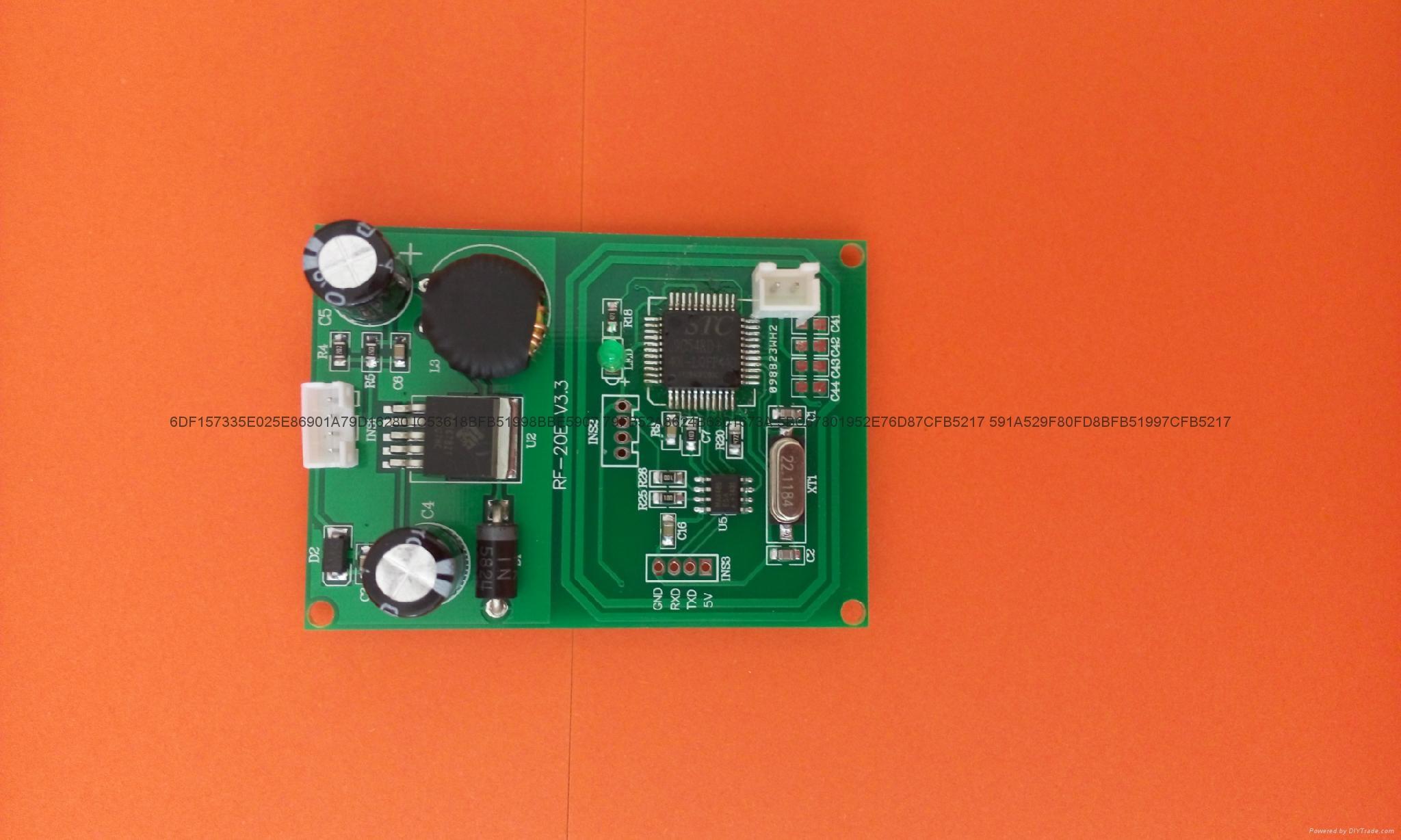 庆通RF-10E 非接触嵌入式模块RFID读写模组 2