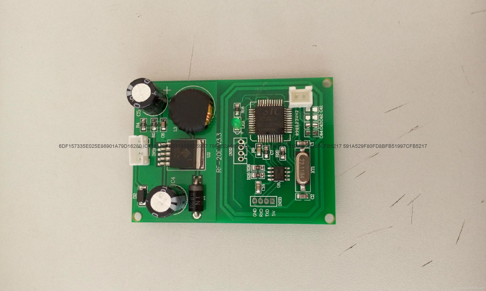 庆通RF-10E 非接触嵌入式模块RFID读写模组 3