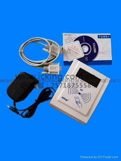 慶通供應 RF500-MEM接觸和非接觸二合一IC卡讀寫設備廠家 2