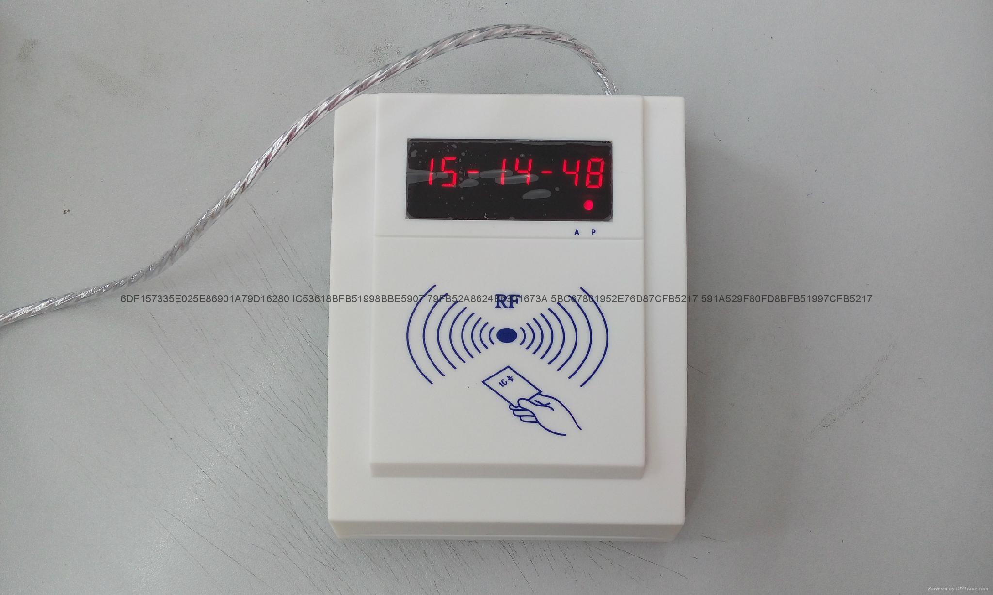 慶通供應 RF500-MEM接觸和非接觸二合一IC卡讀寫設備廠家 3
