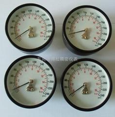 60MM径向塑壳空气压力表