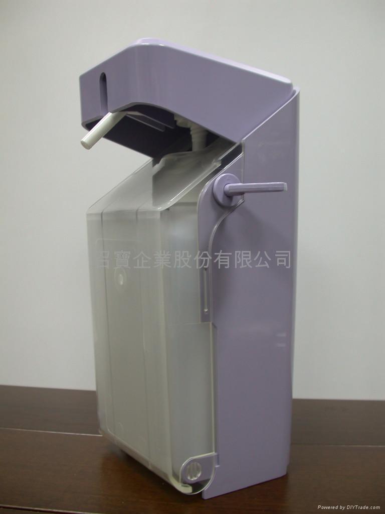 台灣肘壓式手指消毒機(正面圖)