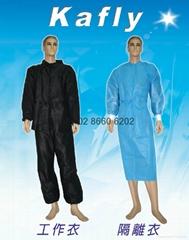 兩截式工作衣(黑色)