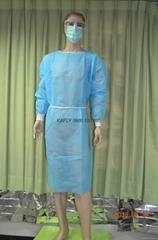 隔離工作衣(中國製-防潑)