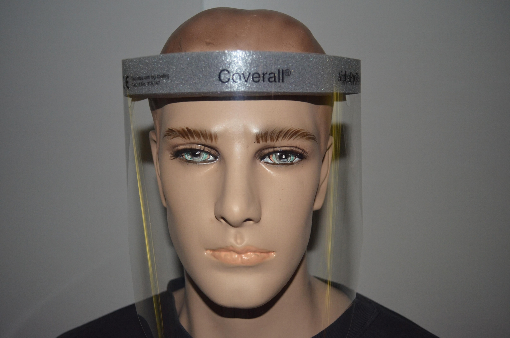 Critical Cover® Coverall® Face Shields 1