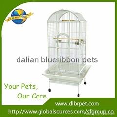 Wholesale fashion design metal material large parrot cage