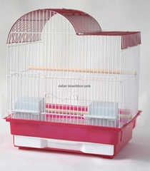 Outside  Feeders Bird Cage with Double Doors