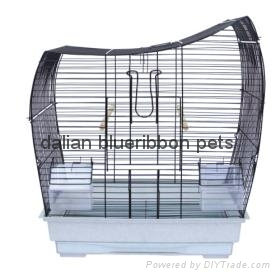 Bird Cage Medium Bird Cage outside feeder DLBR(B)1715 1