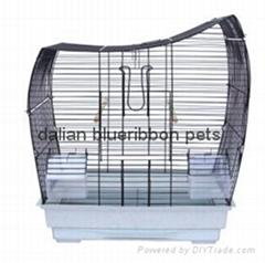 Bird Cage Medium Bird Cage outside feeder DLBR(B)1715