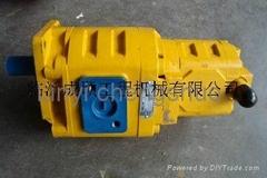 XCMG ZL50G wheel loader twin gear pump