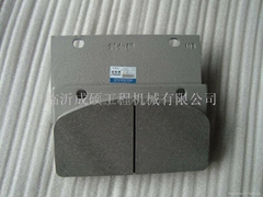 Supply sdlg wheel loader brake pad