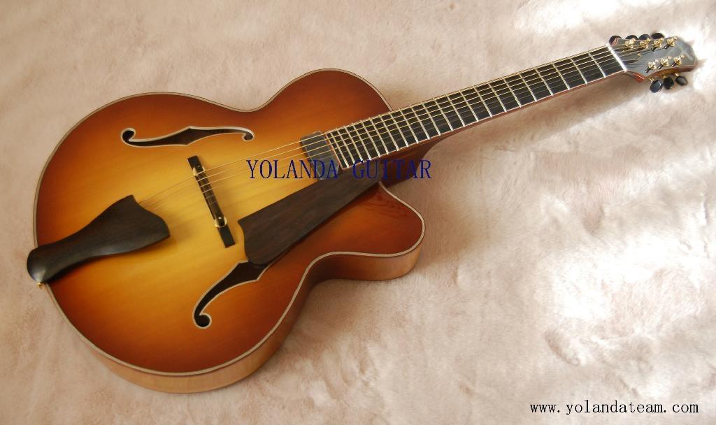7弦手工吉他 1